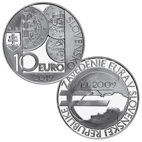 10 euro slovensko 2019 zavedenia eura. Black Bedroom Furniture Sets. Home Design Ideas