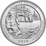 25 Cent USA 2018 - Apostle Islands - Wisconsin