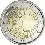 2 EURO - Belgium 100th anniversary of the creation of the Royal Meteorological Institute 2013
