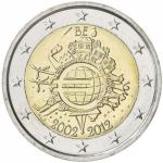 2 EURO - commemorative coin Belgium 2012