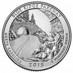 25 Cent USA 2015 - Blue Ridge - North Carolina