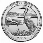 25 Cent USA 2015 - Bombay Hook - Delaware