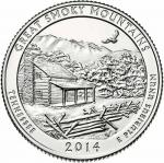 25 Cent USA 2014 - Great Smoky Mountain - Tennessee
