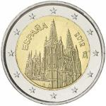 2 EURO - commemorative coin Spain 2012 - Burgos