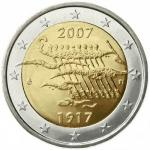 2 EURO - 90th anniversery of the declaration of independence 2007