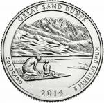 25 Cent USA 2014 - Great Sand Dunes - Colorado