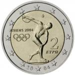 2 EURO - Olympic Games in Athens 2004