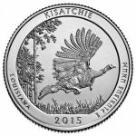 25 Cent USA 2015 - Kisatchie - Louisiana