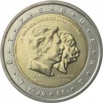 2 EURO - 50th birthday of Grand Duke Henri 2005