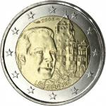 2 EURO - The Grand-Duke Henri and the official residence 'Château de Berg 2008