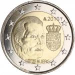 2 EURO - Coat of Arms of the Grand Duchy 2010