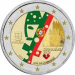 2 EURO - The European Capital of Culture 2012, the city of Guimarães in the North of Portugal -
