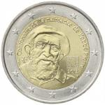 2 EURO - The 100th anniversary of the birth of the Abbé Pierre, famous in France as protector of the