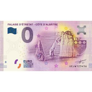 0 Euro Souvenir Francúzsko 2019 - Falaise D´Étretat Click to view the picture detail.