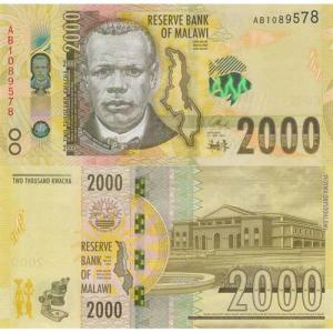 2000 Kwacha 2016 Malawi Click to view the picture detail.