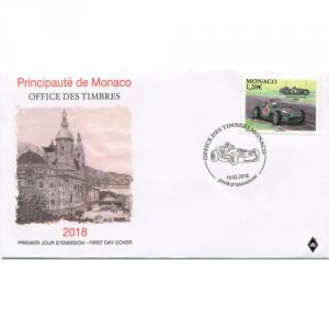 FDC Monako 2018 - Mercedes-Benz W196 Click to view the picture detail.