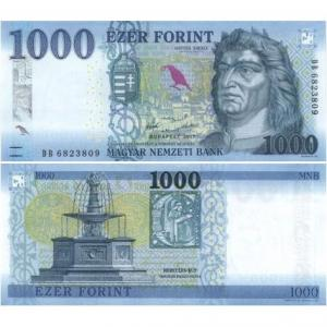 1000 Forint 2017 Maďarsko Click to view the picture detail.