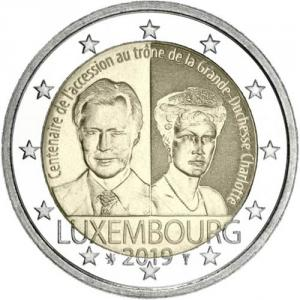 2 EURO Luxembursko 2019 - Charlotte Click to view the picture detail.