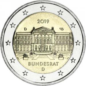 2 EURO Nemecko 2019 - Bundesrat D Click to view the picture detail.