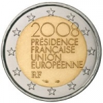 2 EURO - French Presidency of the Council of the EU in the second half of 2008