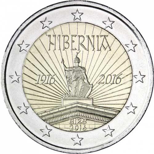 2 Euro írsko 2016 Hibernia Nunofisk
