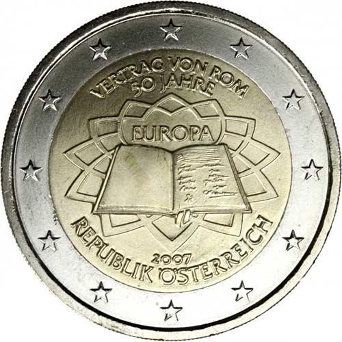 50 Jahre Romische Vertrage Munze Wert